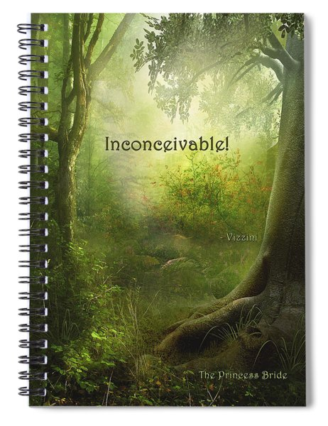 The Princess Bride - Inconceivable Spiral Notebook