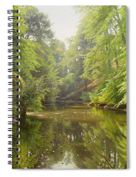 The Quiet River Spiral Notebook