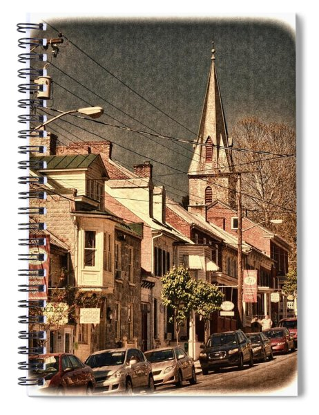 The Quintessential Semiquincentennial - Shepherdstown Wv  Spiral Notebook