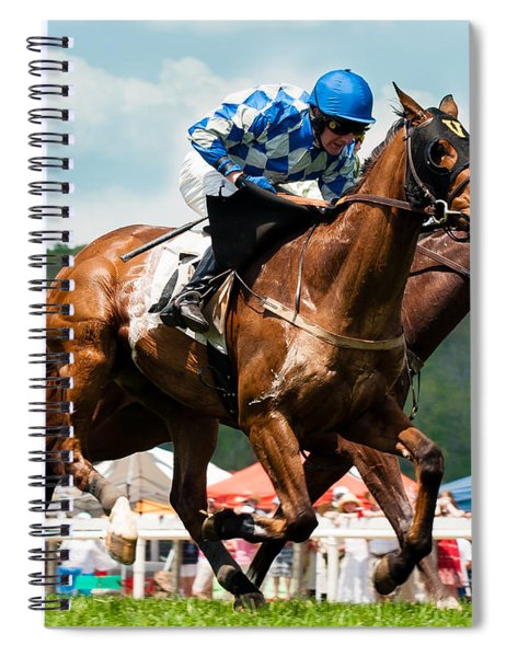 The Race Is On Spiral Notebook