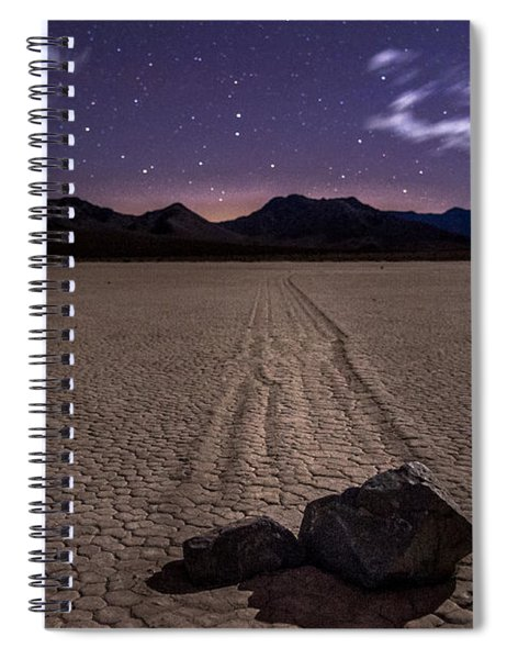 The Racetrack Spiral Notebook