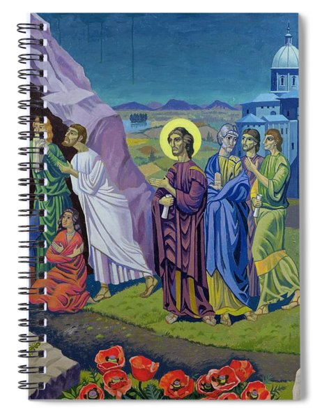 The Raising Of Lazarus, 1987 Spiral Notebook