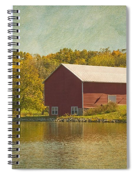 The Red Barn Spiral Notebook