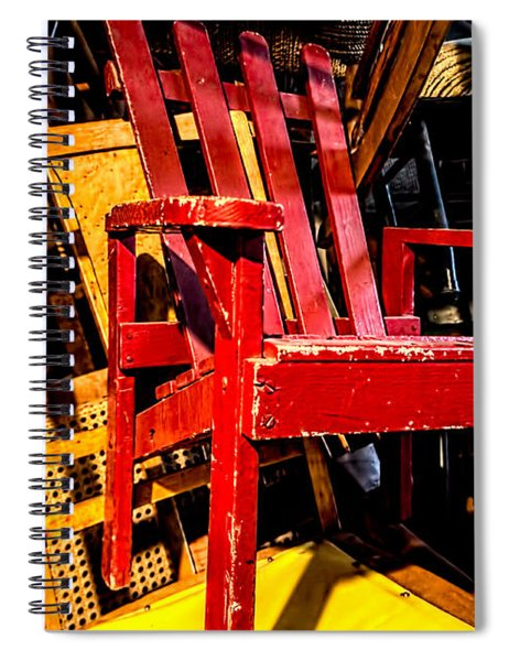 The Red Chair Spiral Notebook