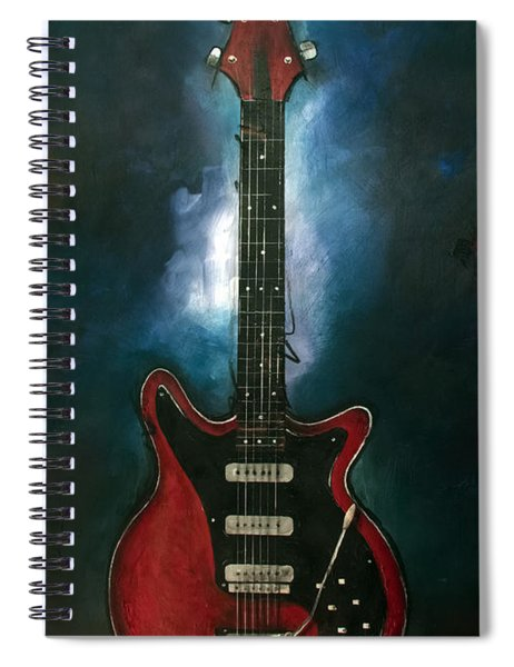 The Red Special Spiral Notebook