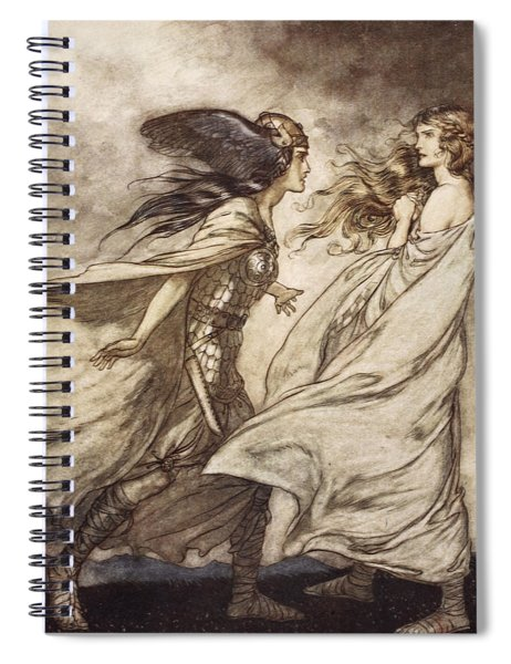 The Ring Upon Thy Hand - ..ah Spiral Notebook