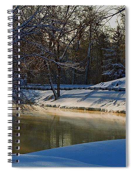 The River Bend Spiral Notebook