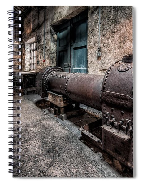 The Riveted Boiler Spiral Notebook