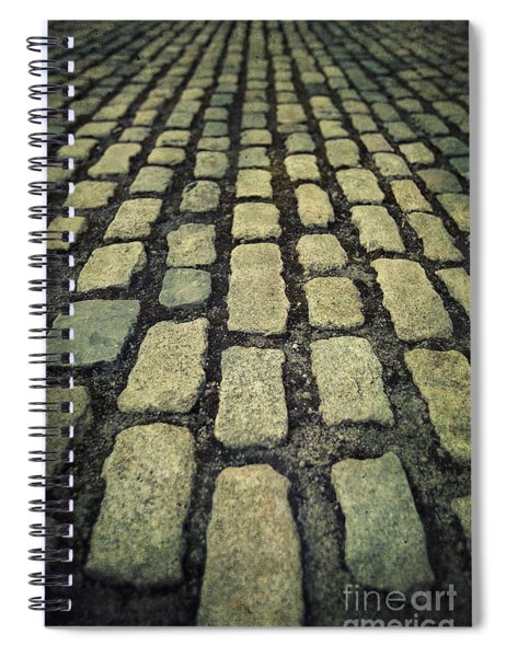 The Road Eternal Spiral Notebook