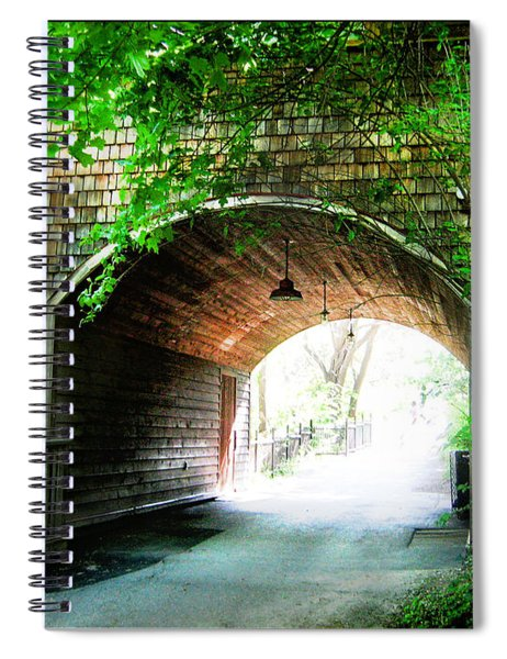 The Road To Beyond Spiral Notebook