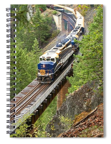 The Rocky Mountaineer Railroad Spiral Notebook
