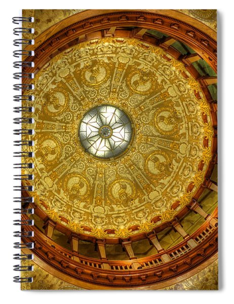 The Rotunda Spiral Notebook