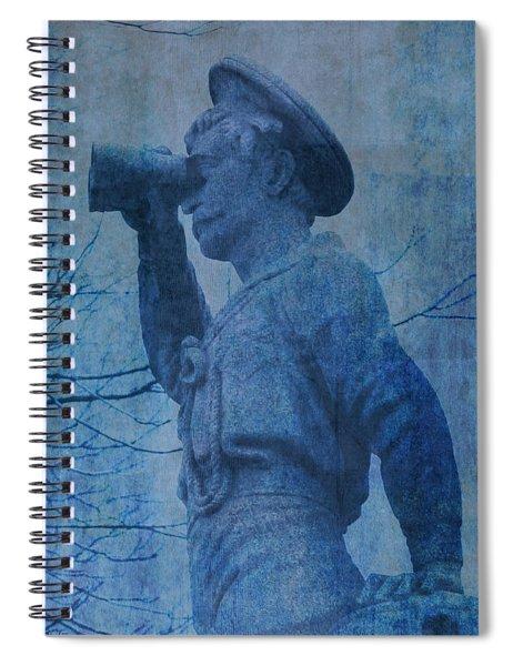 The Seaman In Blue Spiral Notebook