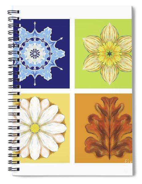 The Seasons Spiral Notebook