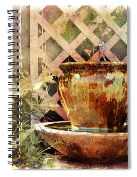 The Secret Fountain Spiral Notebook