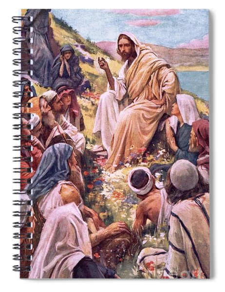 The Sermon On The Mount Spiral Notebook