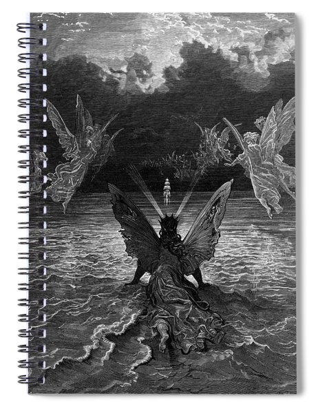 The Ship Continues To Sail Miraculously Moved By A Troupe Of Angelic Spirits Spiral Notebook