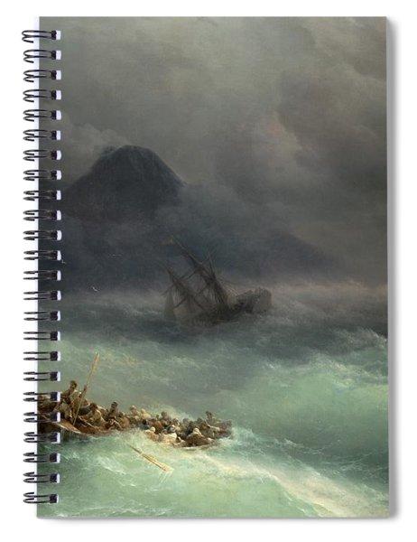 The Shipwreck Spiral Notebook