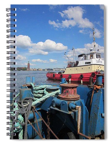 The Shipyard Spiral Notebook