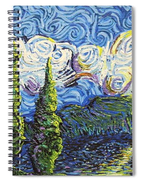 The Shores Of Dreams Spiral Notebook