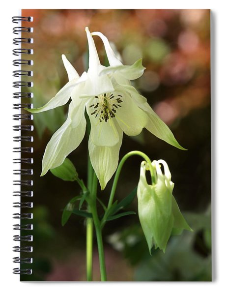 The Shy Aquilegia Spiral Notebook