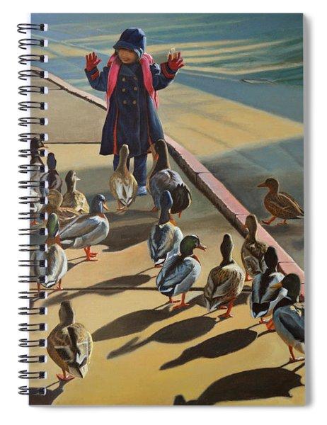 The Sidewalk Religion Spiral Notebook