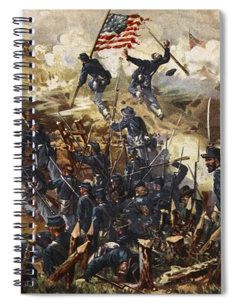 The Siege Of Vicksburg, May 18th - July Spiral Notebook