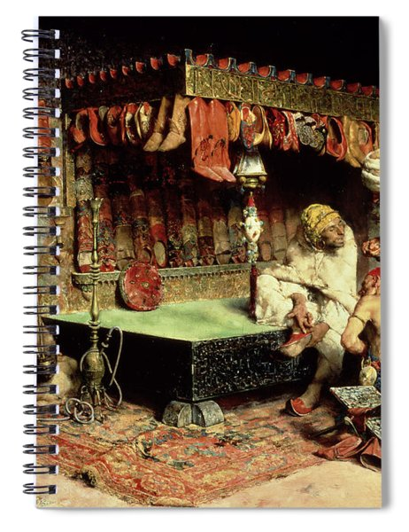 The Slipper Merchant Spiral Notebook