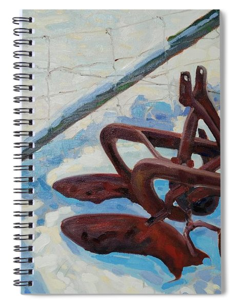 The Snow Plow Spiral Notebook