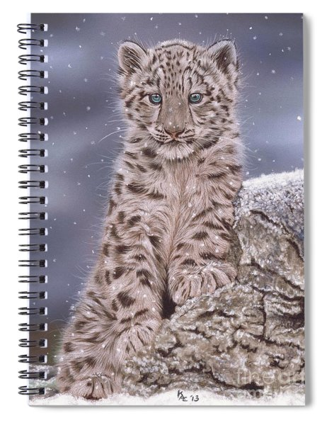 The Snow Prince Spiral Notebook