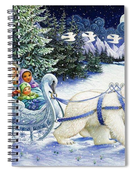 The Snow Queen Spiral Notebook