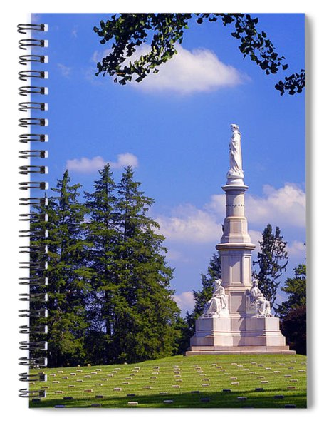The Soldiers Monument Spiral Notebook