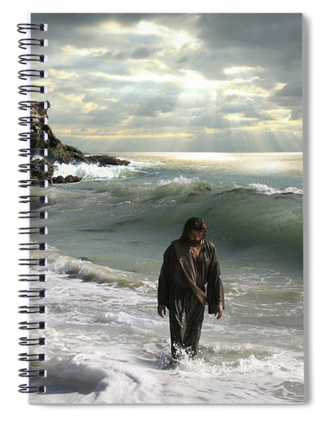 The Son Is The Radiance Of God's Glory Spiral Notebook