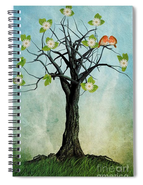 The Song Of Spring Spiral Notebook