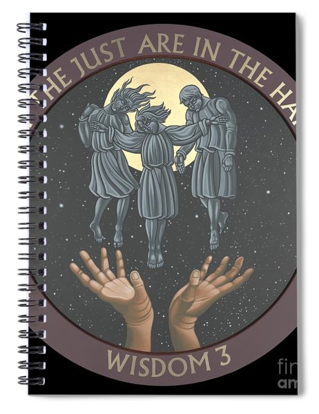 The Souls Of The Just Are In The Hands Of God 172 Spiral Notebook
