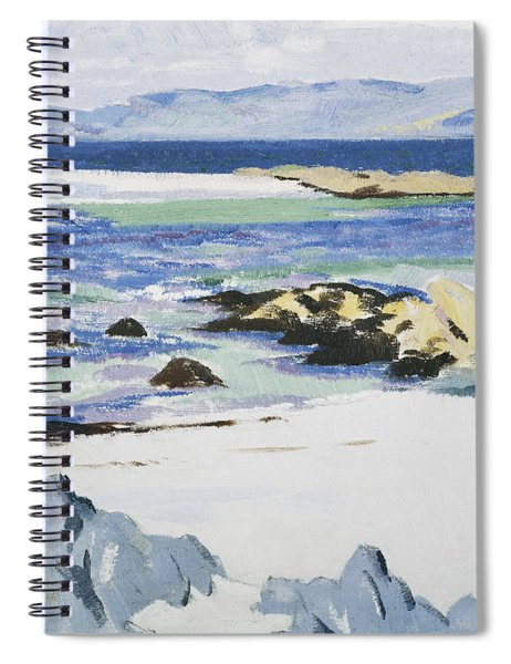 The Sound Of Mull From Iona Spiral Notebook