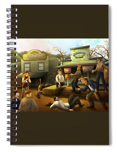 The Sourdough Saloon Spiral Notebook