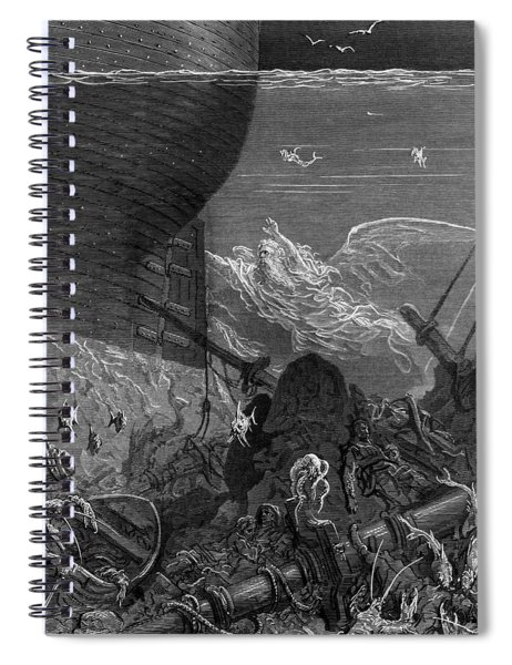 The Spirit That Had Followed The Ship From The Antartic Spiral Notebook