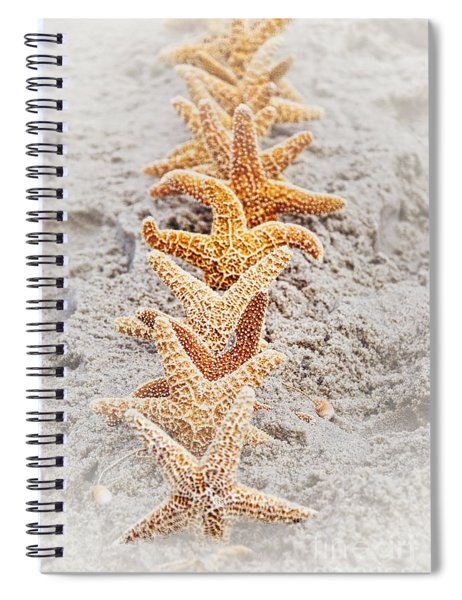 The Starfish Line Dance Spiral Notebook