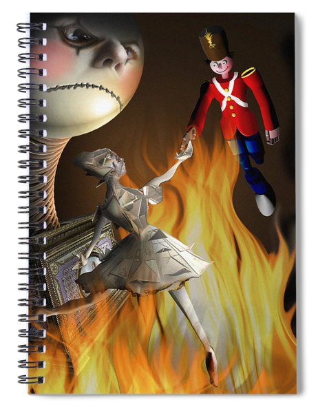 The Steadfast Tin Soldier ...the Envy... Spiral Notebook