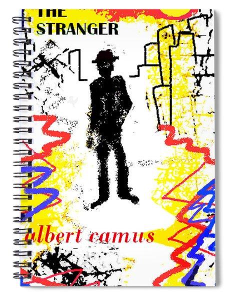 The Stranger Albert Camus Poster Spiral Notebook