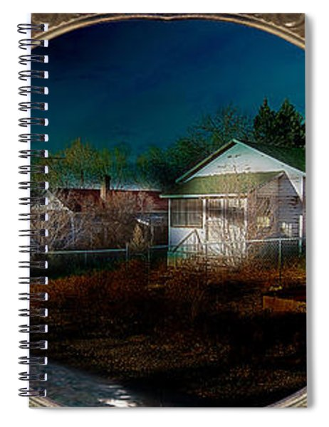 The Street On The River Spiral Notebook