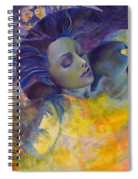 The Sun The Moon And The Truth Spiral Notebook