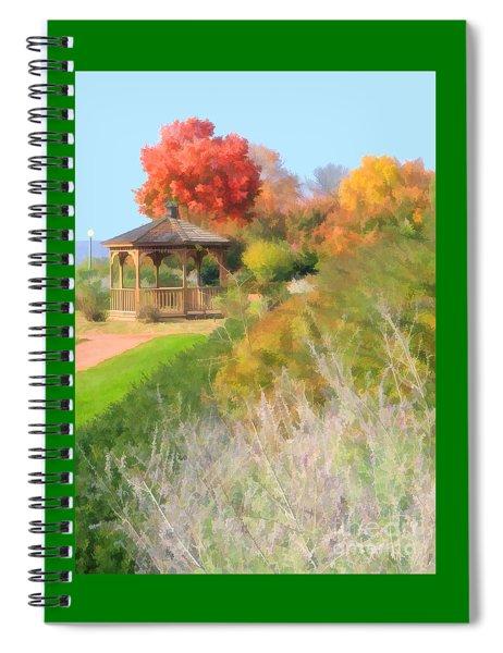 The Sunken Garden Spiral Notebook