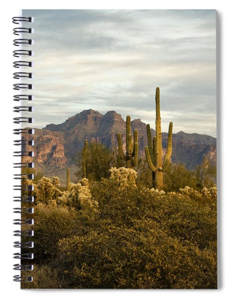 The Superstition Mountains Spiral Notebook