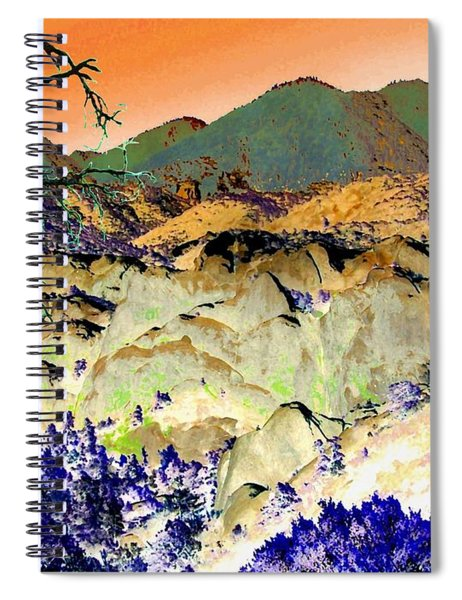 The Surreal Desert Spiral Notebook
