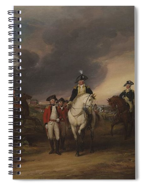 The Surrender Of Lord Cornwallis At Yorktown, October 19, 1781 Spiral Notebook