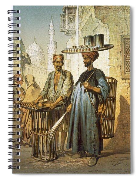The Tea Seller Spiral Notebook