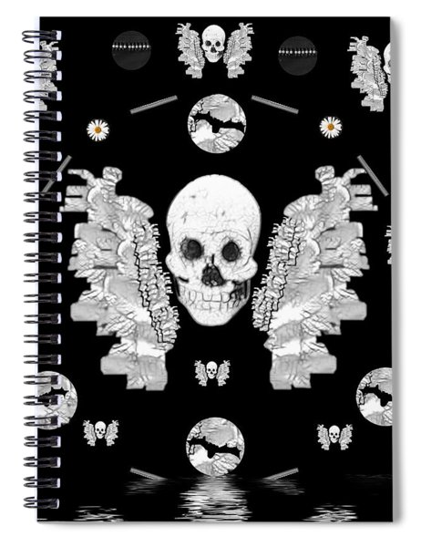 The Temple Of Skulls Spiral Notebook