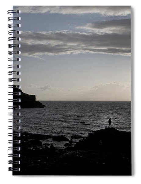 The Thinker -- Giant's Causeway --ireland Spiral Notebook